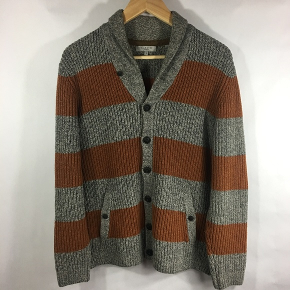 Ted Baker London Other - Ted Baker London Men's Wool Knit Cardigan SMALL